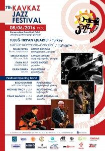Kavkaz Jazz poster 8 June