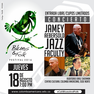 Poster Calí - Blues and Folk Festival
